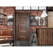 установка и монтаж межкомнатных дверей в стиле лофт