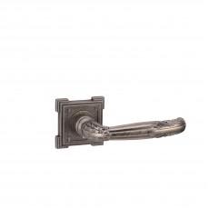 Flamingo vq204 aged silver Ручка дверная, состаренное серебро
